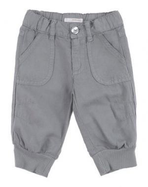 Повседневные брюки AMORE. Цвет: серый