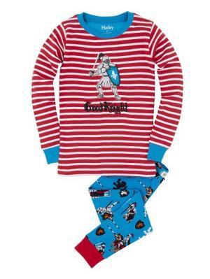 Пижама HATLEY. Цвет: красный