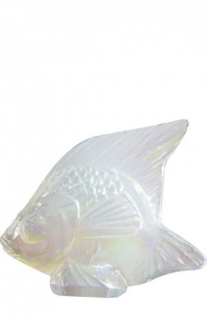 Скульптура Fish Lalique. Цвет: бесцветный