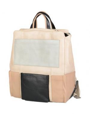 Рюкзаки и сумки на пояс PIQUADRO. Цвет: бежевый