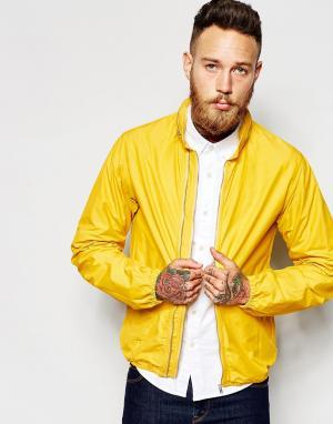 YMC Куртка с двумя молниями. Цвет: желтый