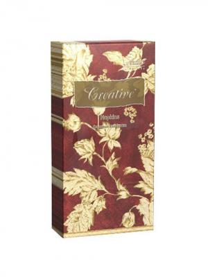 Салфетки Creative Snacks 33х33 см, Версаль, 3-слойные, 16 шт./уп Aster. Цвет: бордовый