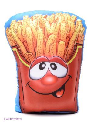 Мягкая игрушка-антистресс Картошка-фри S-S. Цвет: красный, оранжевый