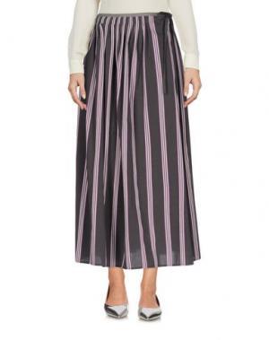 Длинная юбка ATTIC AND BARN. Цвет: свинцово-серый