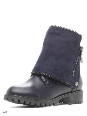Ботинки VIVIAN ROYAL. Цвет: темно-синий