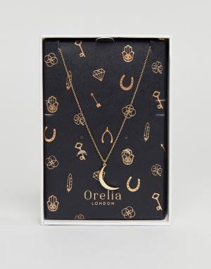 Orelia Подарочный набор. Цвет: золотой
