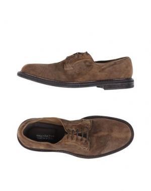 Обувь на шнурках MOKA DA DUE. Цвет: хаки