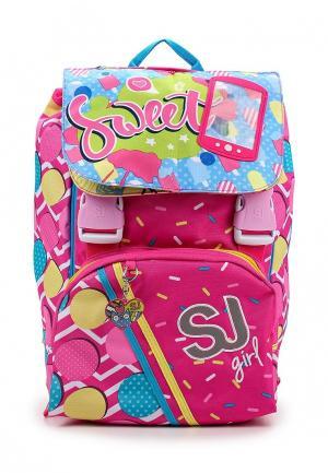 Рюкзак SJ Gang. Цвет: розовый