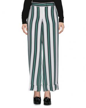 Повседневные брюки SALVATORE FERRAGAMO. Цвет: белый