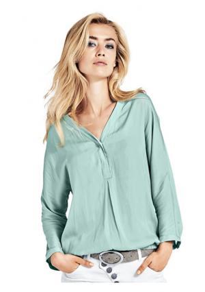 Блузка B.C. BEST CONNECTIONS. Цвет: абрикосовый, нежно-зеленый, серый