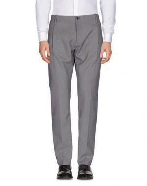 Повседневные брюки NINE:INTHE:MORNING. Цвет: серый