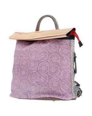 Рюкзаки и сумки на пояс EBARRITO. Цвет: сиреневый