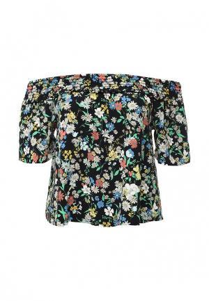 Блуза Topshop. Цвет: разноцветный