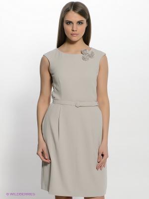 Платье TATUUM. Цвет: светло-бежевый