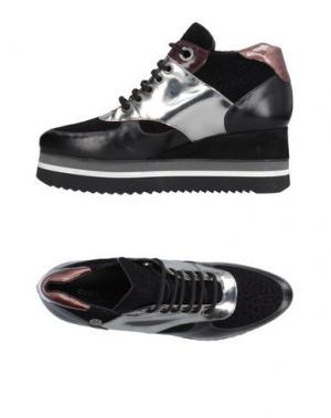 Высокие кеды и кроссовки GUIDO SGARIGLIA. Цвет: черный
