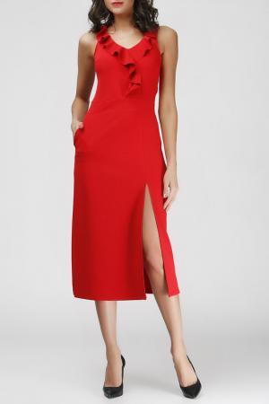 Платье Adelin Fostayn. Цвет: красный