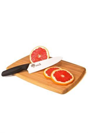 Нож универсальный, 160 мм Supra. Цвет: белый, черный
