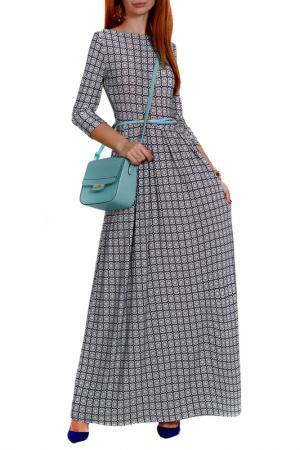 Платье FRANCESCA LUCINI. Цвет: мятный, калейдоскоп
