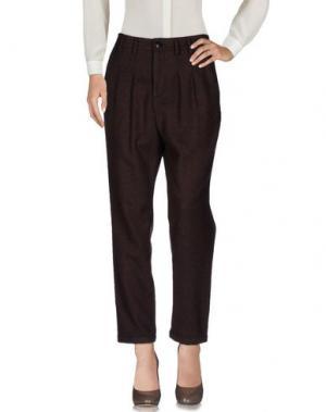Повседневные брюки ELVINE. Цвет: какао