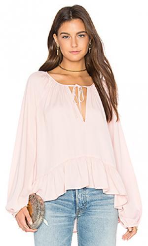 Блузка sage Amanda Uprichard. Цвет: розовый