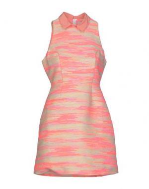 Короткое платье CALLA. Цвет: фуксия