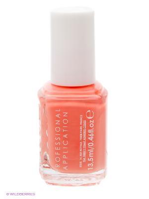 Лак для ногтей 909 ПЕРСИКОВАЯ ДЕТКА PEACH SIDE BABE Essie Professional. Цвет: оранжевый