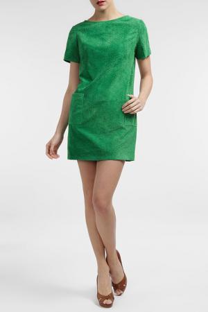 Платье Cruse. Цвет: зеленый
