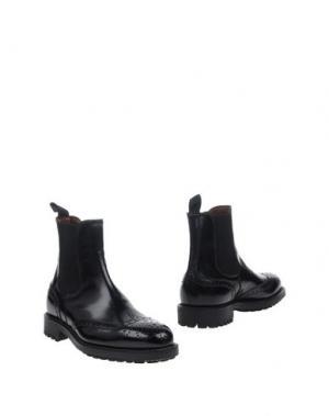 Полусапоги и высокие ботинки REGAIN. Цвет: черный