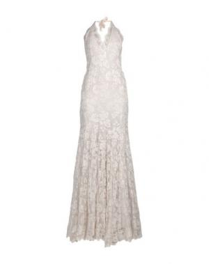 Длинное платье BALENSI. Цвет: слоновая кость