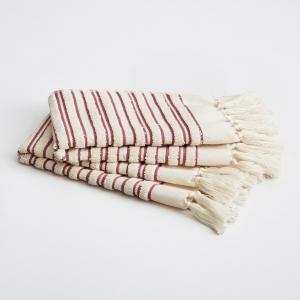 Полотенце банное для гостей Kupigwa V . Barkowski (комплект из 2) AM.PM.. Цвет: серый,черный,ягодный потертый