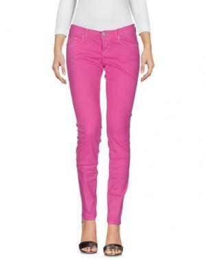 Джинсовые брюки BEVERLY HILLS POLO CLUB. Цвет: фуксия