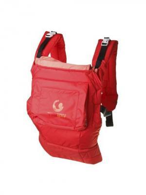 Рюкзак-переноска TIGger с капюшоном TIGger.. Цвет: красный