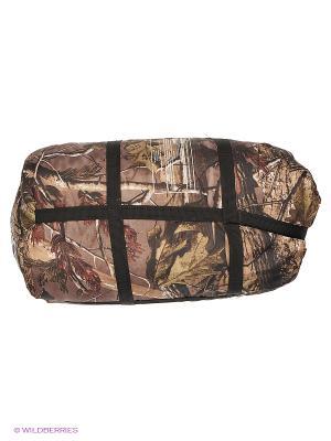Спальный мешок-одеяло Huntsman. Цвет: темно-зеленый, коричневый, черный, серый