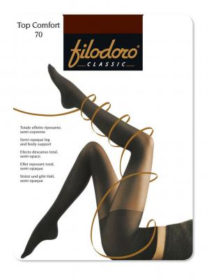 Колготки Filodoro Classic. Цвет: темно-коричневый
