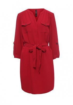 Платье Bestia. Цвет: красный