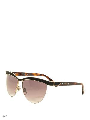 Солнцезащитные очки SK 0076 32F Swarovski. Цвет: черный, золотистый, коричневый