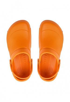 Сабо Crocs. Цвет: оранжевый