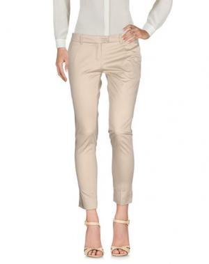 Повседневные брюки ECO. Цвет: бежевый