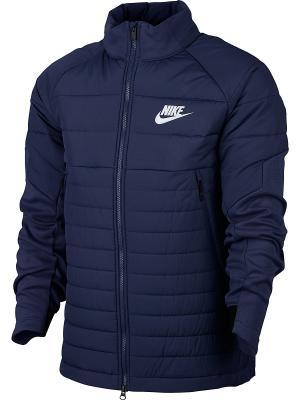 Куртка M NSW SYN FILL AV15 JKT Nike. Цвет: синий