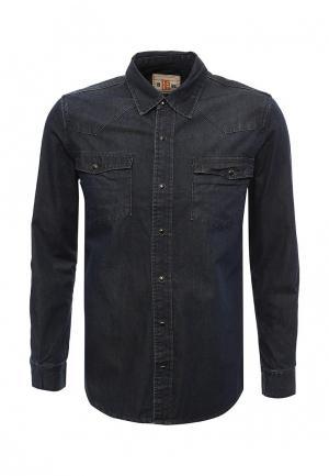 Рубашка джинсовая Biaggio. Цвет: синий