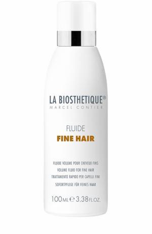 Флюид для тонких волос объема Fine Hair La Biosthetique. Цвет: бесцветный