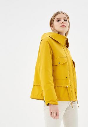 Куртка Mango. Цвет: желтый