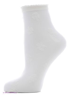 Носки Trasparenze. Цвет: молочный