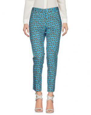 Повседневные брюки NEW YORK INDUSTRIE. Цвет: лазурный