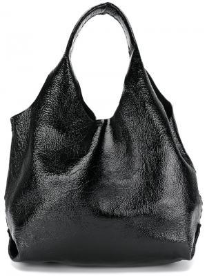 Двусторонняя сумка на плечо Canotta Henry Beguelin. Цвет: чёрный
