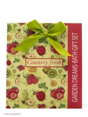 Подарочный набор Fruit №4 Country Fresh. Цвет: белый