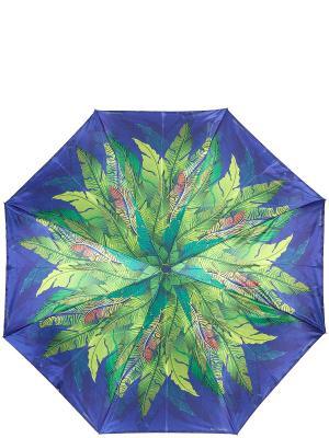 Зонт Eleganzza. Цвет: синий, зеленый, коричневый