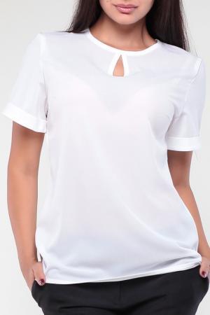Блуза Dioni. Цвет: белый