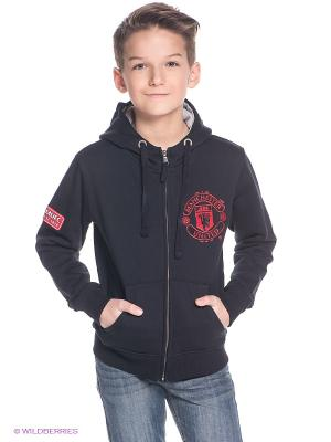 Толстовка Manchester United FC Atributika & Club. Цвет: черный