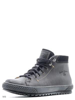 Ботинки DOCKERS.. Цвет: темно-серый